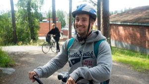 Martti Karppela studerar vid Jyväskylä universitet och röstar på de Gröna.