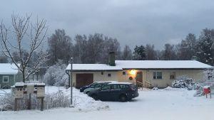 Huset där kommunens dagverksamhet i Ingå hålls.