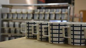 Kaffemuggar hos Vaja i Borgå