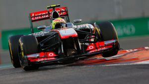 Sergio Perez, McLaren 2013