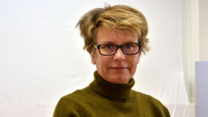 Porträttbild på Eva Sandberg-Kilpi.