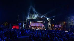 Born in Riga -ulkoilmakonsertti Riiassa 6.7.2014