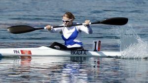 Anne Rikala slutade på åttonde plats vid OS i London.