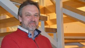 Vattendragsforskaren Ralf Holmberg