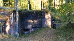 Bunker i Harparskog.