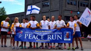 Internationella deltagare i Peace Run