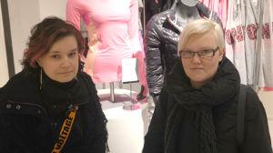 Mia Franck och Ann-Charlotte Palmgren
