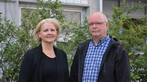 Ann-Mari Audas-Willman och Mårten Björkgren