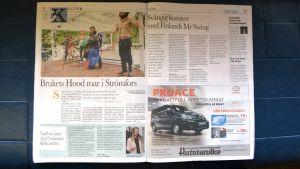 Tidningsida