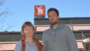 Eva Hagman och Kristoffer Nöjd.