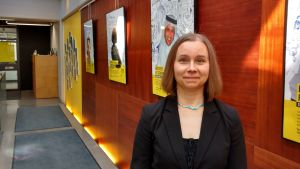 Niina Laajapuro från amnesty Finland
