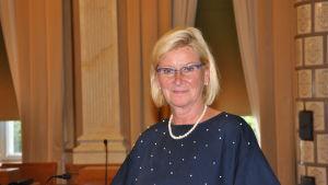 Närbild på Ulla Achrén.
