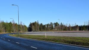 Tom byggplats på Ingåport-området.