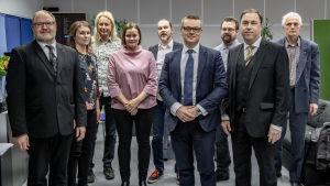 Småpartiernas frågades ut den 2.4.2019 på Yle