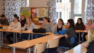 Gymnasiestuderande från Raseborg och Hangö