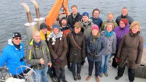 BalticAPP-hankkeen väkeä vuonna 2015