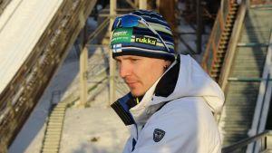 Petter Kukkonen och det kombinerade landslaget fokuserade på att finslipa backhoppningen i Kuopio under veckan före VM.