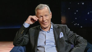 Anders Wiklöf Daniel Olinin vieraana.