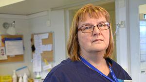 Kotka bb:s avdelningsskötare Reija Mylläri