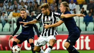 Markus Halsti (t.h.), Juventus-MFF, 16.9.2014