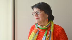 porträtt på svensklärare Marjo Vuokko
