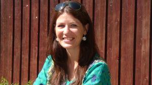 Porträtt på Celinda Byskata