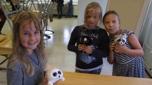 Lizette, Alma och Lucia