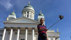 turister, helsingfors, senatskyrkan, Finlandsbilden