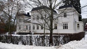 Karaktärsbyggnaden i Strömfors bruk