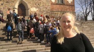 Anna Sörensson ser turister överallt