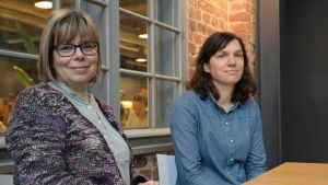 Forskana Ann-Catrin Östman och Anna Sundelin