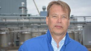 Martti Mikkola, platschef Fermion i Hangö.