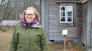 Sofia Lillgäls tycker det är fint då lucia besöker sjukhus och gör hembesök.