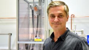 Petteri Masalin, produktutvecklingsdirektör vid Fiskars Ab.