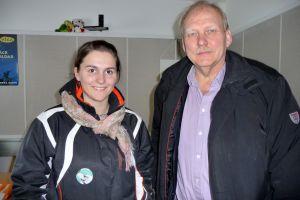 Anna-Kajsa Blomqvist och Håkan Westermark i Måndagsklubben