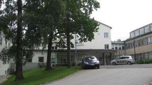 Västra Nylands sjukhus i Ekenäs.