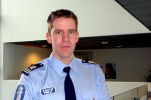 Mikael Appel vid Österbottens polisinrättning