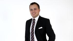 Marcus Beijar (SFP) kandiderar i Vasa valkrets.