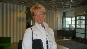 Monica Sirén-Aura leder arbetsgruppen som planerar det nya hästsportcentret