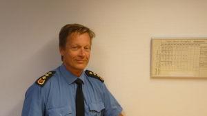 Ledande brandinspektör Jörgen Lang i Vasa