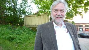 Raseborgs stadsdirektör Mårten Johansson.