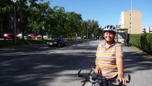 Mais Engelholm är en ivrig cyklist.