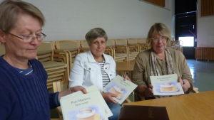 Eva Ljungqvist, Agneta Lindroos och Anna Paljakka.