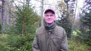 Stefan Pellas, jaktchef vid Finlands viltcentral Kust-Österbotten