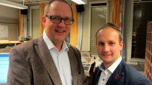 Tomas Häyry och Mikael Löfqvist