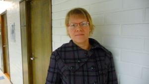 Virpi Hagström är verksamhetsledare för Vasa mödra och skyddshem ry.