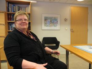 Tf kommundirektör Carola Löf i Larsmo