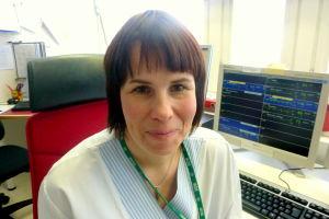 Sjukskötare Ulrika Lundegård