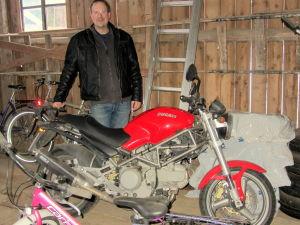 Motorcyklisten Rune Lindblom