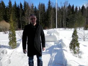 Åkeriägare Håkan Stara i Jakobstad